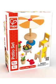 Hape Patio Set Furniture - Front full body