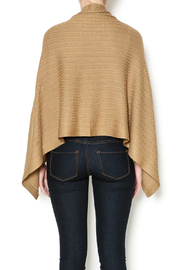 Patricia's Presents Camel Three Way Top - Back cropped