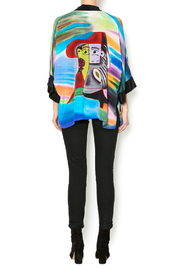 Patricia's  Presents Silk Painted Kimono 2 - Side cropped