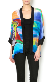Patricia's  Presents Silk Painted Kimono 2 - Product Mini Image