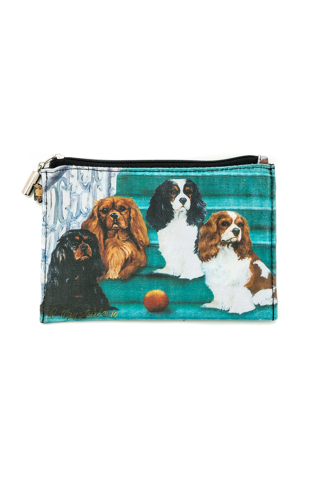 Patricia's Presents Zippered Dog Pouch - Front Cropped Image