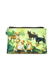 Patricia's Presents Zippered Dog Pouch - Front cropped
