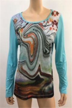 Shoptiques Product: Artsy Beautiful Top