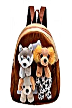 Patricia's Presents Backpack, Removeable Dogs - Alternate List Image