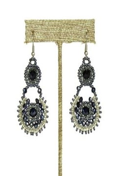 Patricia's Presents Beaded Circle Earrings - Alternate List Image