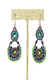 Patricia's Presents Beaded Earrings - Product Mini Image
