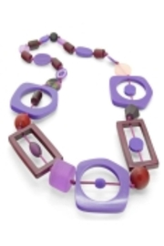 Patricia's Presents Beet/plum Neckpiece - Product Mini Image