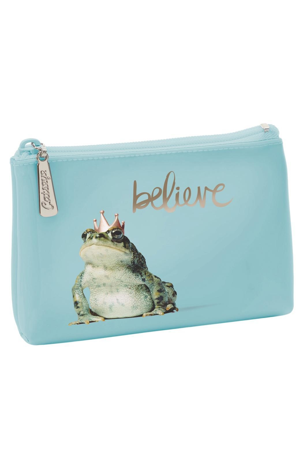 Patricia's Presents Believe Frog Change Purse - Main Image