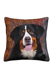 Patricia's Presents Bernese  Dog Pillow - Product Mini Image