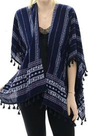 Patricia's Presents Bohomian Stripe Kimono - Product Mini Image