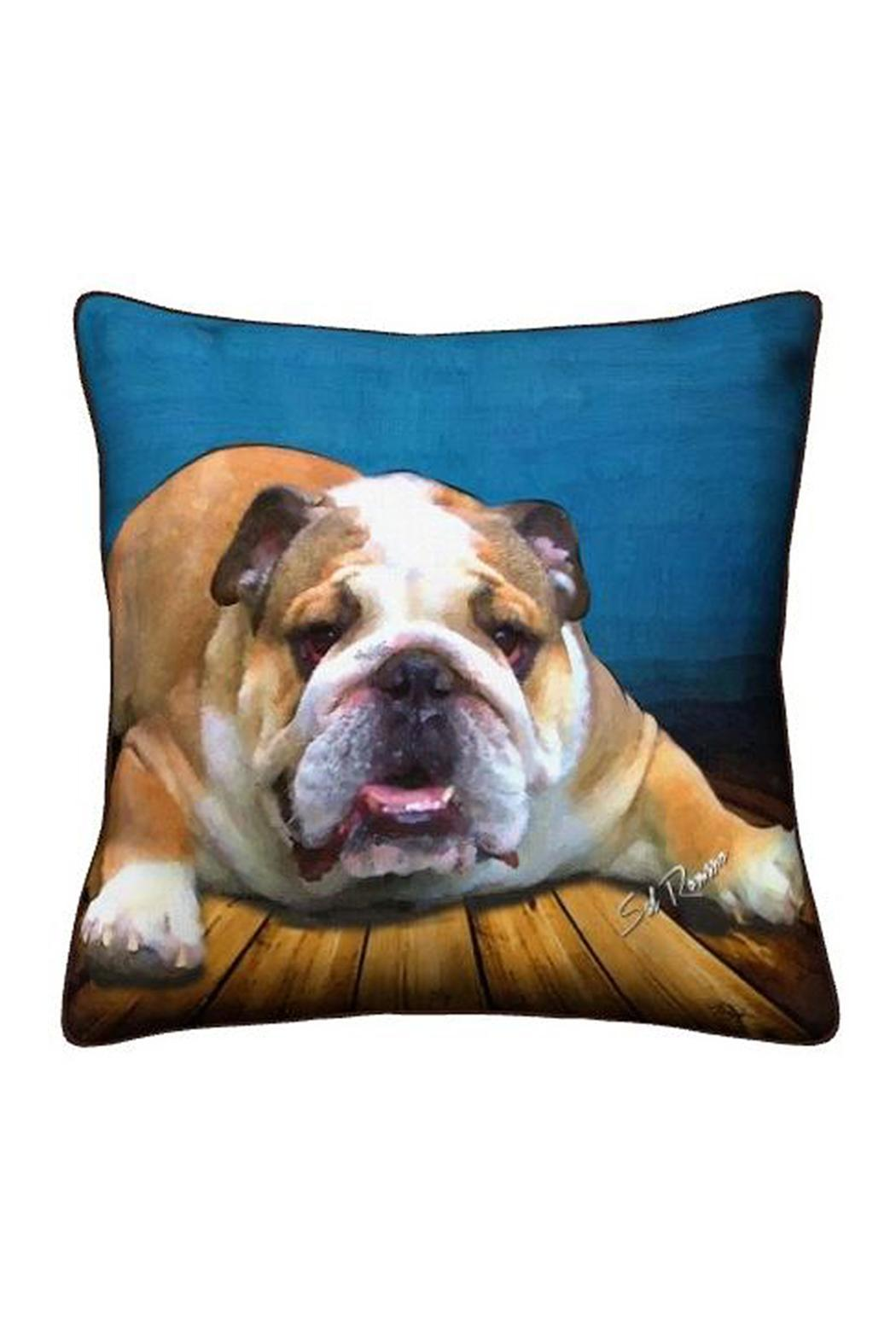 Patricia's Presents Bulldog Pillow - Main Image