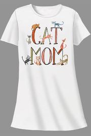 Patricia's Presents Cat Mom Sleepshirt - Product Mini Image