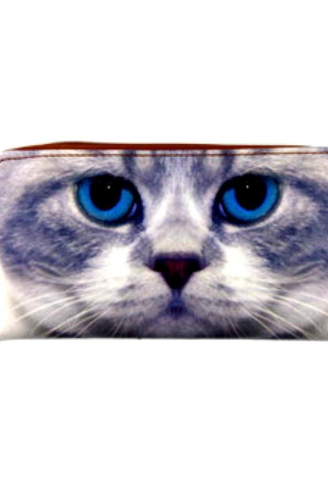 Patricia's Presents Cat Zipper Wallet - Main Image