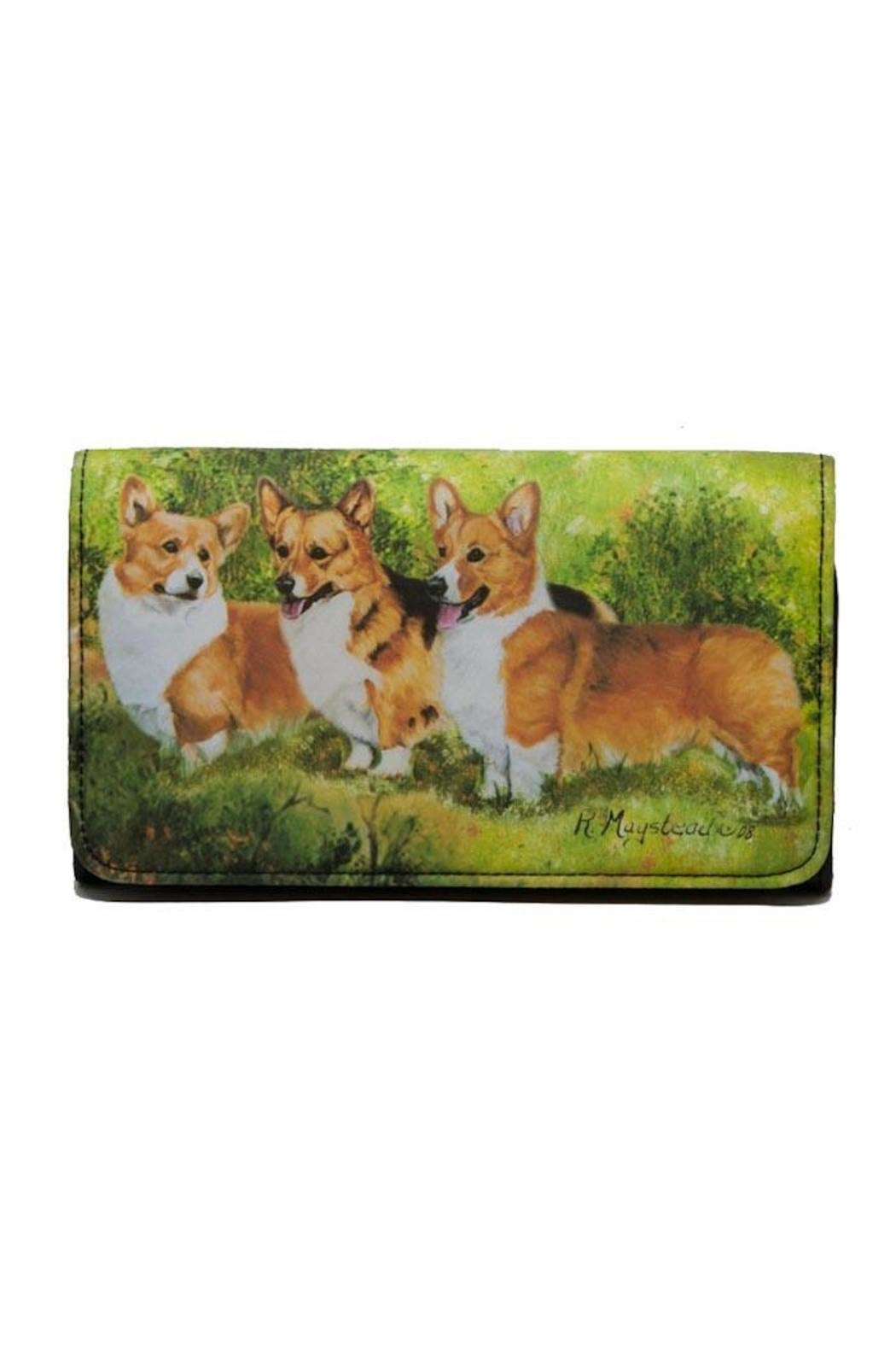Patricia's Presents Corgi Theme Wallet - Main Image
