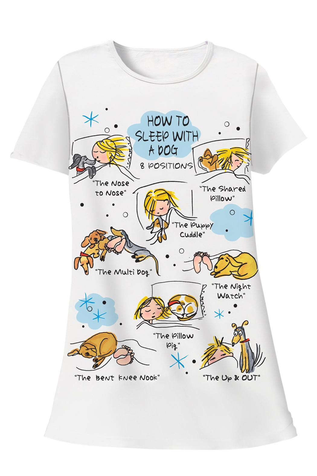 Patricia's Presents Cotton Sleepshirt Dogs - Main Image
