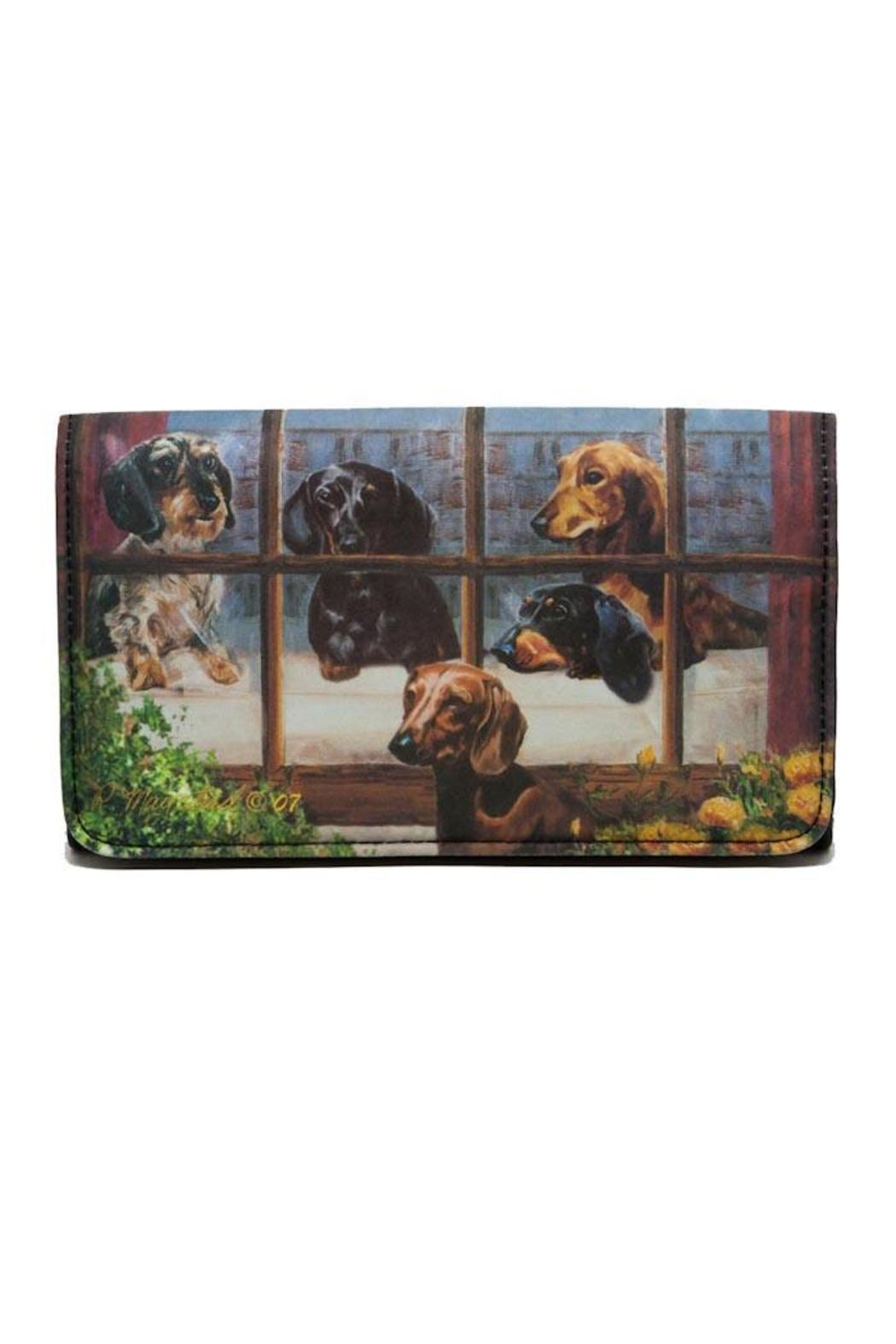 Patricia's Presents Dachshund Theme Wallet - Main Image