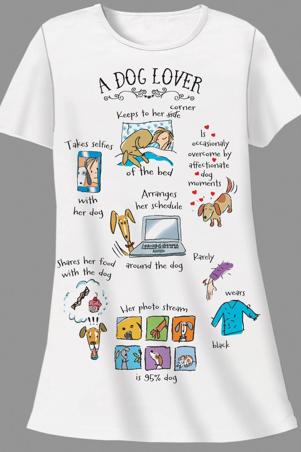 Patricia's Presents Dog Lover Sleepshirt - Main Image