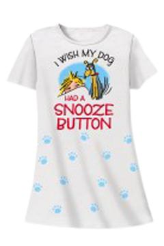 Shoptiques Product: Dog Snooze Sleepshirt