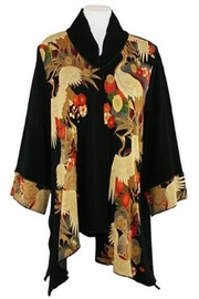 Vintage Coats & Jackets | Retro Coats and Jackets Exotic Crane Jacket $139.00 AT vintagedancer.com