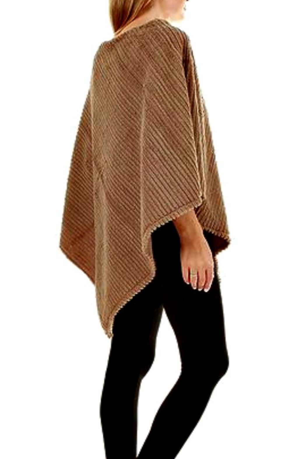 Patricia's Presents Faux Fur Poncho - Main Image