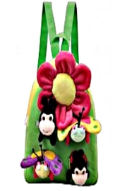 Patricia's Presents Flower Backpack - Front cropped