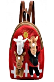 Patricia's Presents Four Horse Backpack - Product Mini Image
