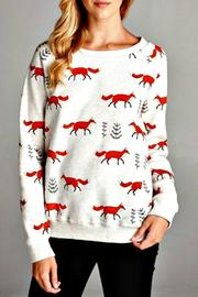 Patricia's Presents Fox Sweatshirt - Product Mini Image