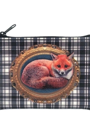 Patricia's Presents Fox Vegan Changepurse - Front cropped