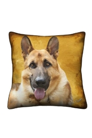Patricia's Presents German Shepherd Pillow - Front cropped