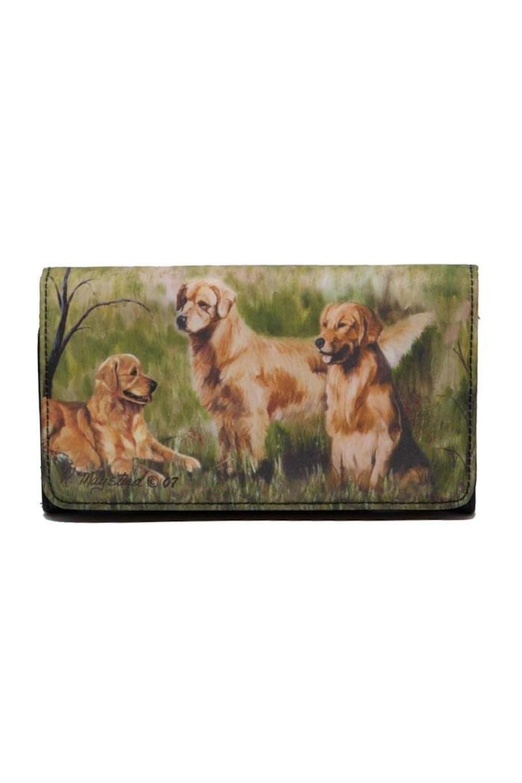 Patricia's Presents Golden Retriever Theme Wallet - Main Image
