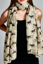 Patricia's Presents Horse Scarf - Product Mini Image