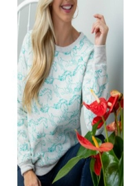 Patricia's Presents Horse Sweatshirt - Front cropped