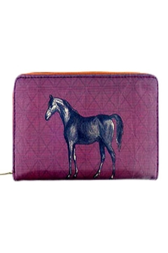 Patricia's Presents Horse Vegan Wallet - Product List Image
