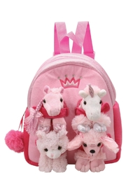 Patricia's Presents Kids Pink Backpack - Product Mini Image