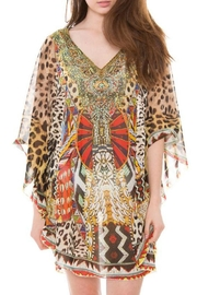 Patricia's Presents Leopard Bling Caftan - Product Mini Image