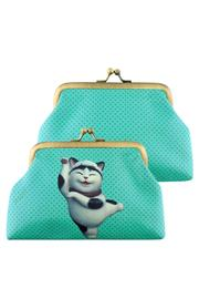 Patricia's Presents Maneki Neko Change Purse - Front cropped