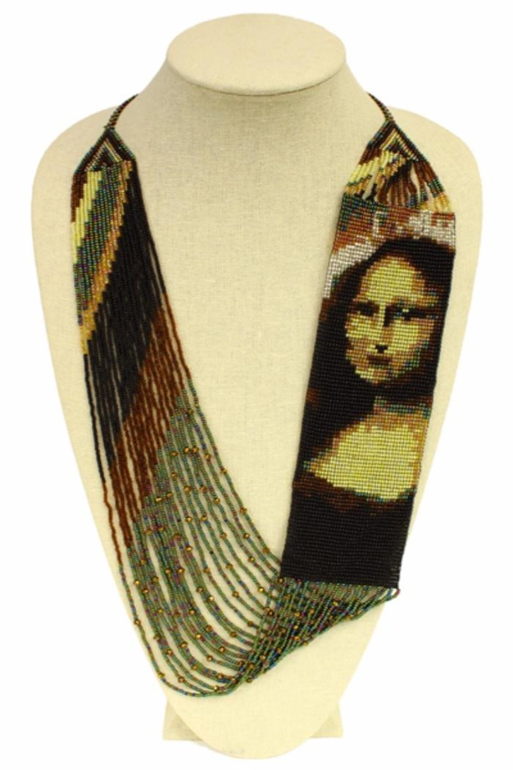 Patricia's Presents Mona Lisa Neckpiece - Front Cropped Image