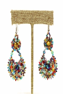 Patricia's Presents Multi Bead Earrings - Product List Image