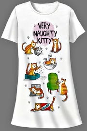 Patricia's Presents Naughty Kitten Sleepshirt - Product Mini Image