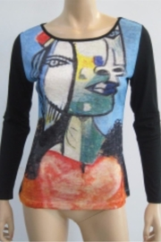 Patricia's Presents Picasso Theme Top - Product Mini Image
