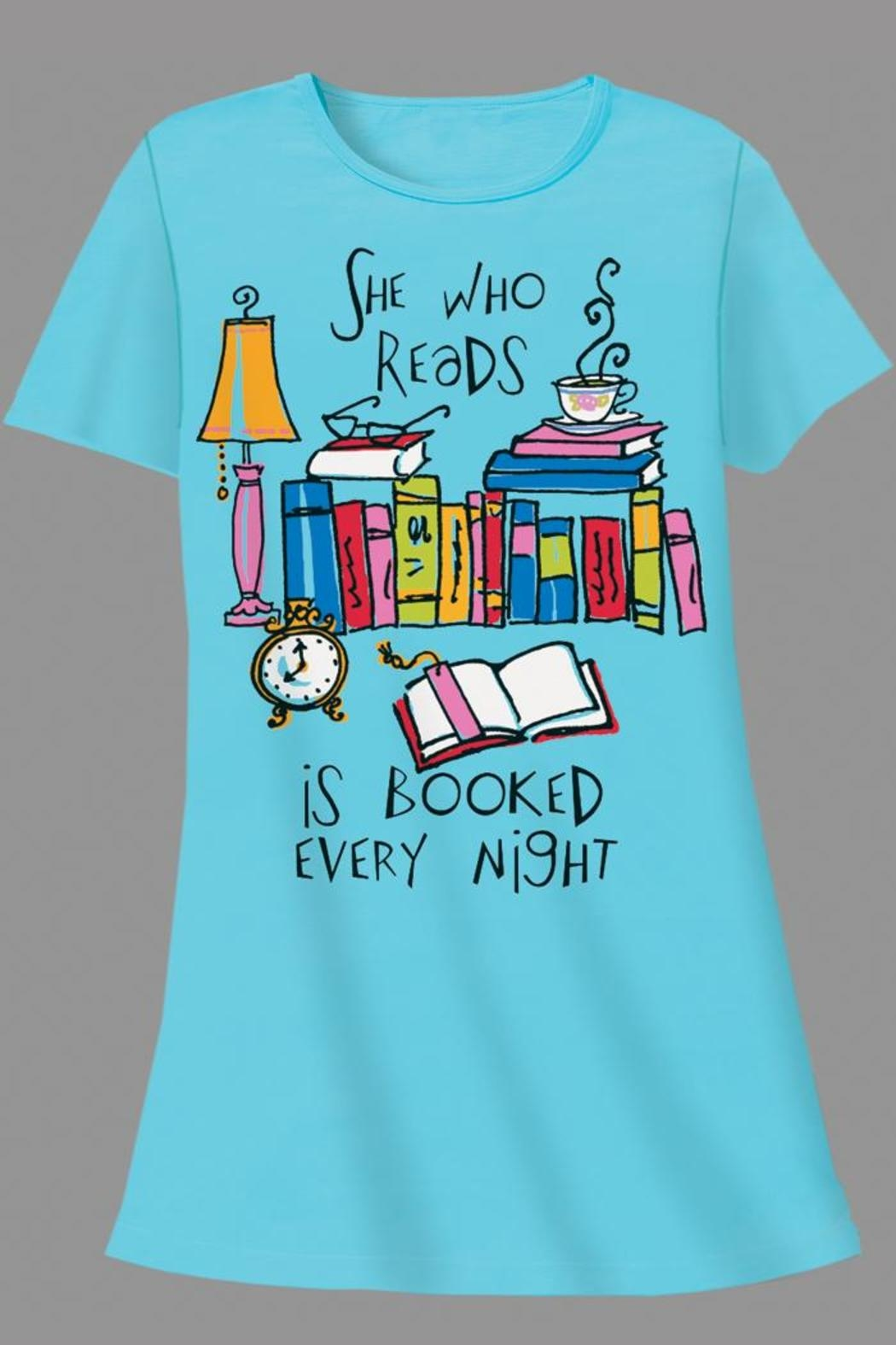 Patricia's Presents Readers Sleepshirt - Main Image