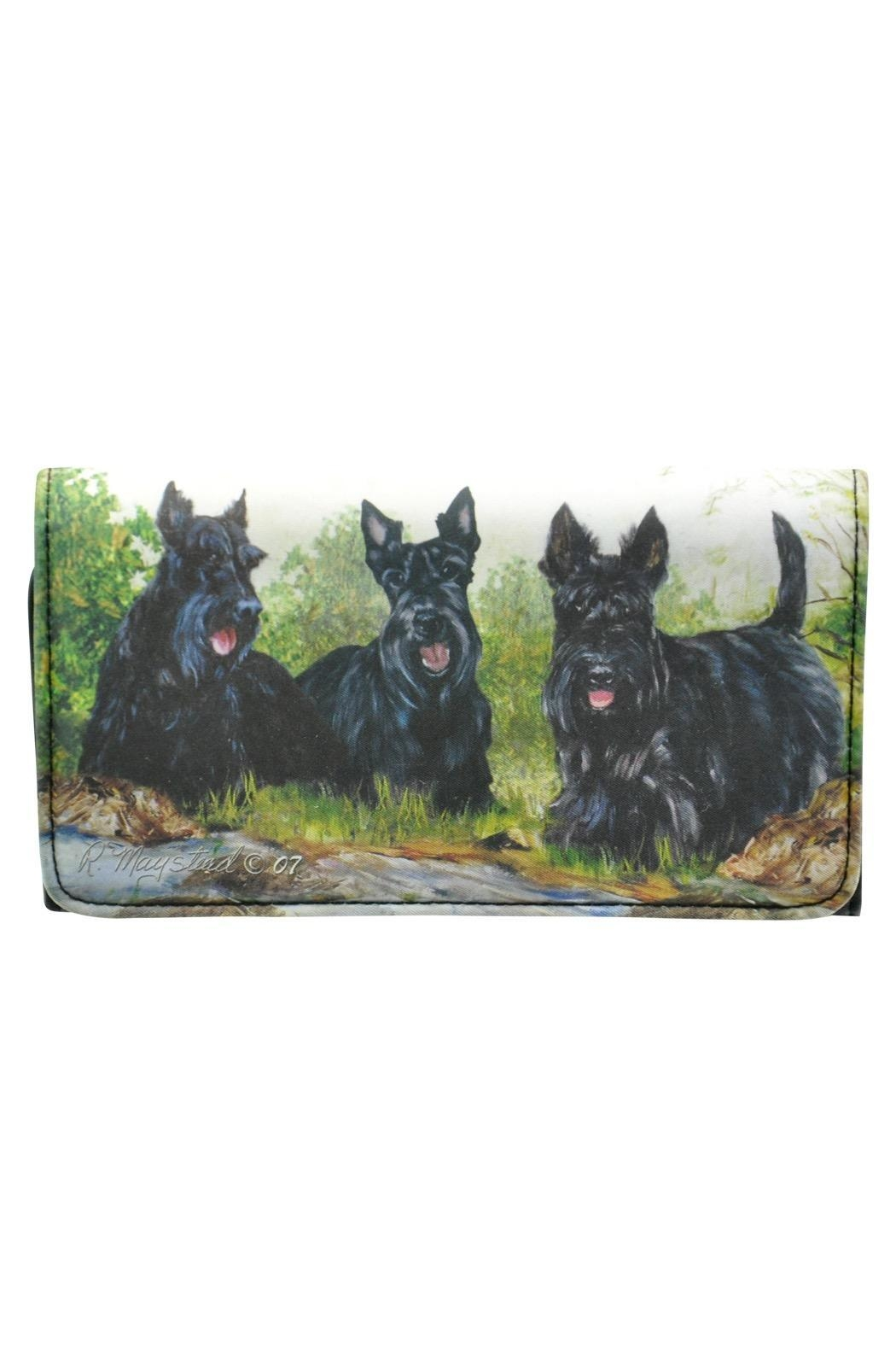 Patricia's Presents Scottie Theme Wallet - Main Image