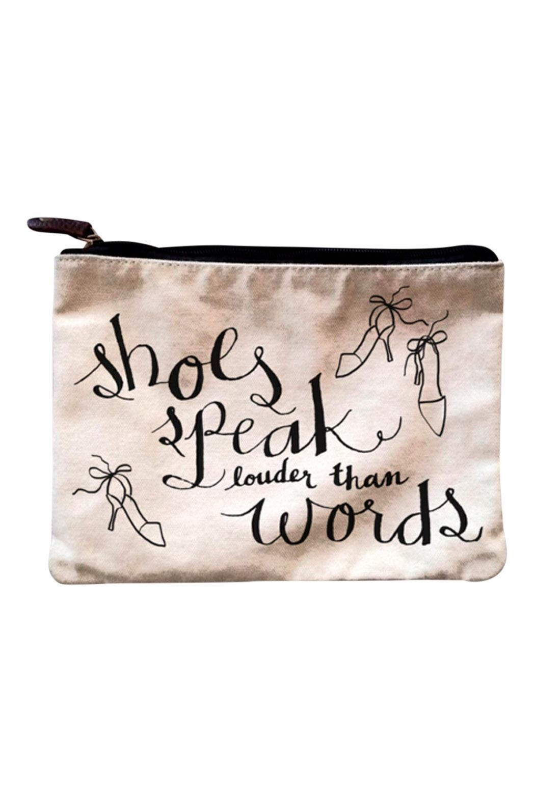 Patricia's Presents Pouch Words Carryall - Main Image