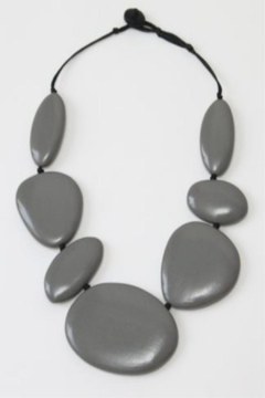 Patricia's Presents Stunning Grey Neckpiece - Product List Image