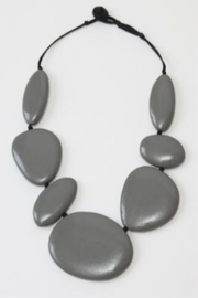 Patricia's Presents Stunning Grey Neckpiece - Product Mini Image