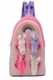 Patricia's Presents Unicorn Backpack - Front cropped
