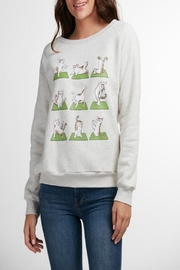 Patricia's Presents Yoga Cat Sweatshirt - Product Mini Image