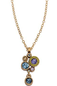 Shoptiques Product: Balancing Act Crystal Necklace