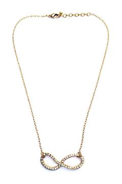 Patricia Locke Crystal Infinity Necklace - Alternate List Image