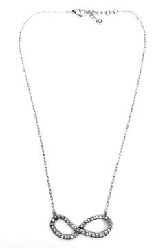 Patricia Locke Crystal Infinity Necklace - Product List Image